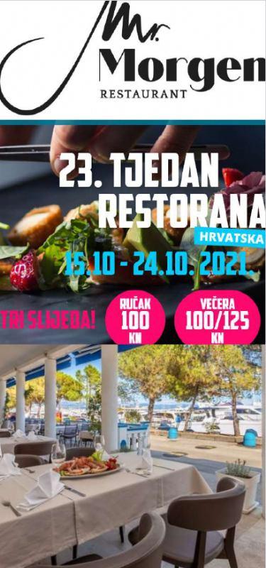 23. tjedan restorana